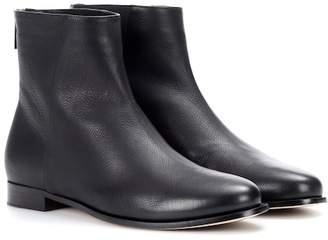 Jimmy Choo Duke leather ankle boots