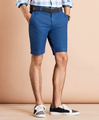 Brooks Brothers Garment-Dyed Oxford Shorts