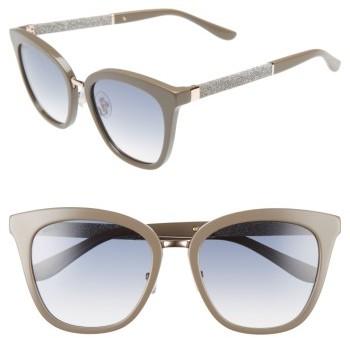Jimmy ChooWomen's Jimmy Choo Fabry 53Mm Sunglasses - Black