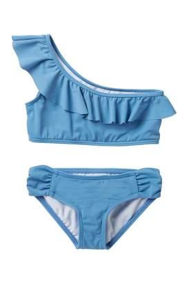 Billabong Sol Searcher One Shoulder Bikini (Little Girls & Big Girls)