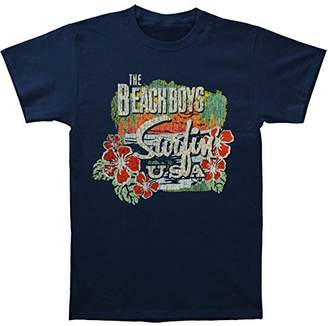 Bravado Men's Beach Boys Surfin USA Tropical T-Shirt
