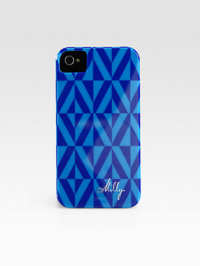 Milly Geometric Print Hardcase for iPhone 4/4s