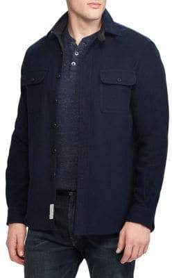 Ralph Lauren Standard Fit Button-Front Shirt Jacket