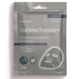 BeautyPRO THERMOTHERAPY Warming Silver Foil Mask 30g