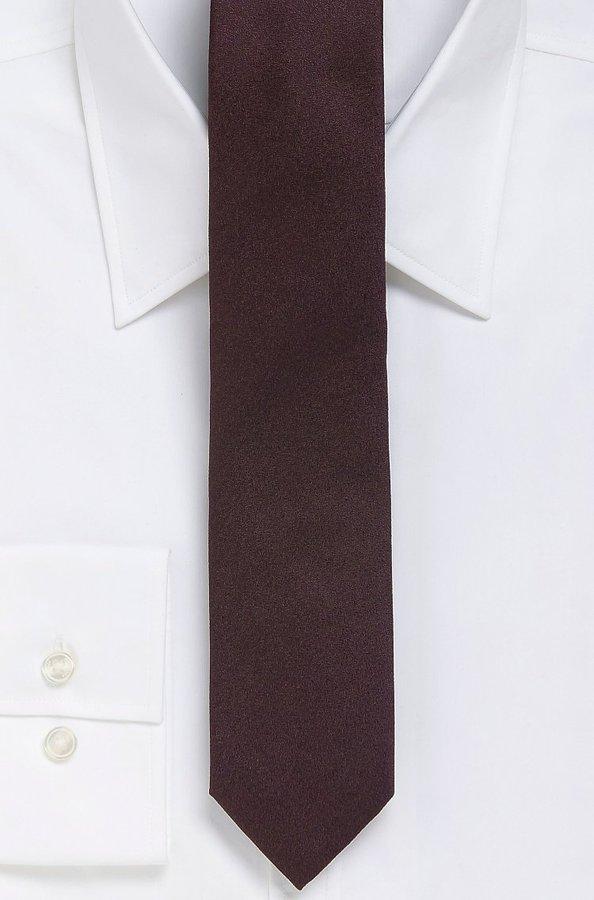 HUGO BOSS '6 cm Tie'   Skinny Silk Patterned Tie by BOSS