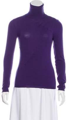 Valentino Lightweight Knit Virgin Wool Turtleneck