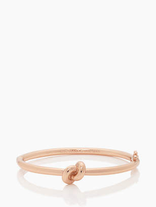 Kate Spade Sailors knot hinge bangle