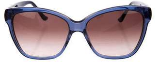 Judith Leiber Embellished Cat-Eye Sunglasses