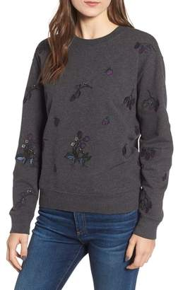 Barbour Evelyn Embroidered Sweatshirt