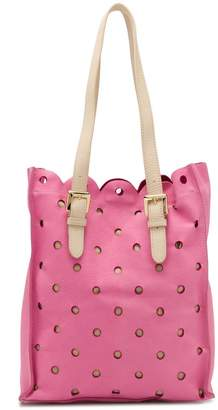 Moschino Cheap & Chic perforated tote bag