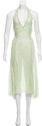 Philosophy di Alberta Ferretti Lace Maxi Dress