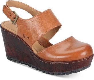 b.o.c Helena Wedge Sandals $90 thestylecure.com