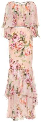 Dolce & Gabbana Floral-printed gown