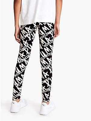 Puma Girls' Printed Leggings