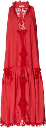Nevenka In The Finale Crochet-Lace Dress