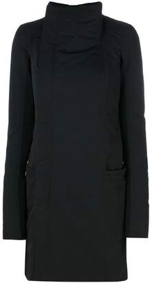 Rick Owens funnel neck coat