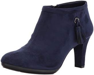 Anne Klein AK Sport Women's Silva Fabric Ankle Boot