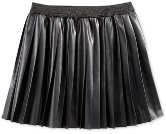 Epic Threads Faux-Leather Pleated Skirt, Big Girls (7-16), Only at Macy's $28 thestylecure.com