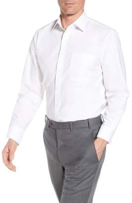 Nordstrom Tech-Smart Traditional Fit Stretch Pintpoint Dress Shirt