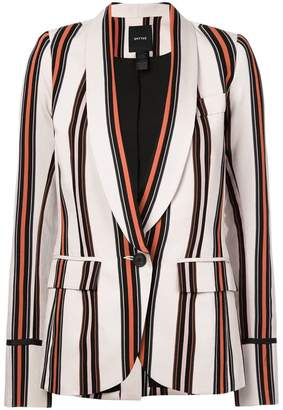 Smythe striped blazer