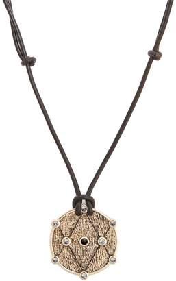 Kate Moss ARA VARTANIAN X diamond, amethyst & gold necklace