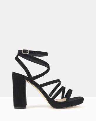 betts Sapphire Platform Sandals