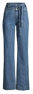 J Brand Women's Sukey Tie-Waist Wide-Leg Jeans