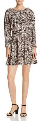 Rebecca Taylor Leopard Print Mini Dress