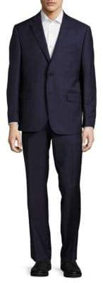 Saks Fifth Avenue Classic-Fit Woven Wool Suit