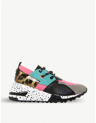 Steve Madden Cliff multi-coloured chunky-sole trainers