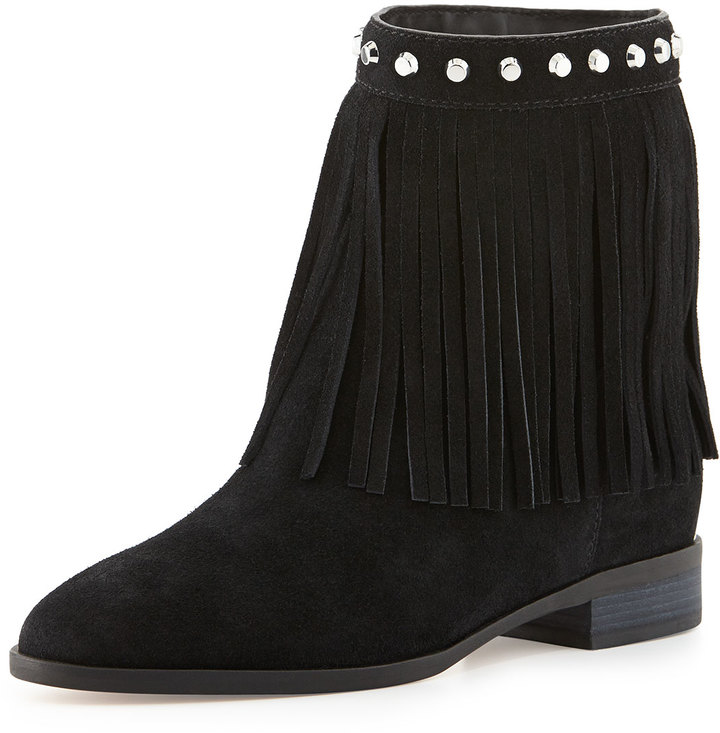 MICHAEL Michael Kors Billy Studded Fringe Bootie