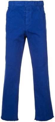 Haider Ackermann straight leg trousers