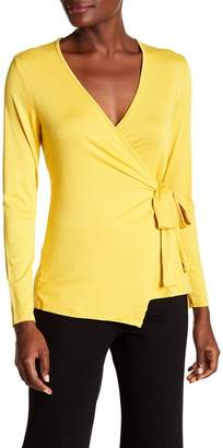 Bobeau Faux Wrap Top
