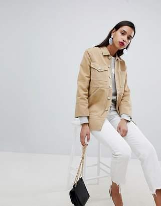 Whistles Longline Denim Workwear Jacket