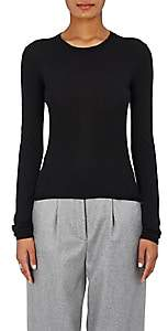 Barneys New York Women's Cashmere-Silk Crewneck Sweater - Black
