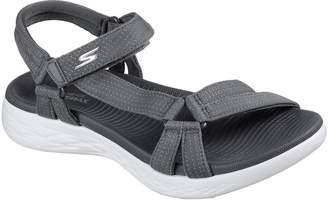 Skechers ON the GO 600 Brilliancy Sandals - Grey