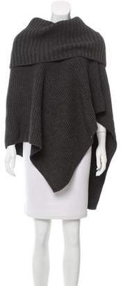 Michael Kors V-Neck Knit Poncho