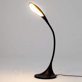 Schwarze LED-Schreibtischlampe Josia