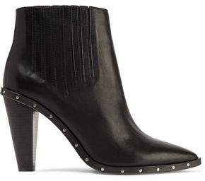 IRO Stud-Embellished Leather Ankle Boots