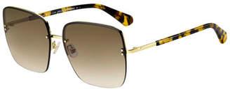 Kate Spade Janays Square Acetate Sunglasses
