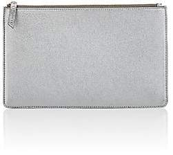 Barneys New York Men's Large Zip Pouch - Silver