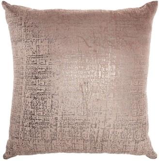 Inspire Me Home Decor Inspire Me! Home Decor Distressed Metallic Throw Pillow