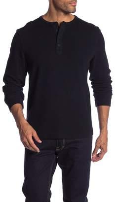 Gilded Age Pique Double Face Henley Shirt