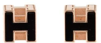 Hermes Cage d'H Earrings