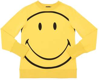 Yporqué Smile Printed Cotton Sweatshirt