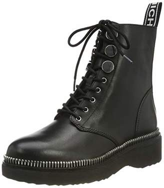 Michael Kors Women's Tavie Bootie Combat Boots, (Black 001), (7 US)