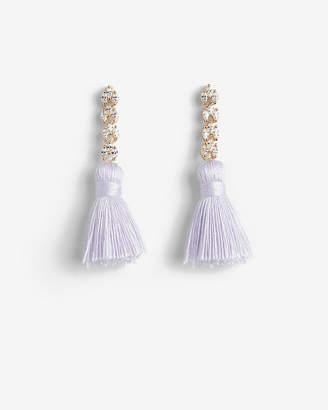 Express Linear Tassel Earrings