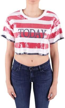 Alberta Ferretti Today Sequined T-shirt