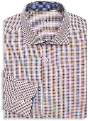 Bugatchi Men's Cotton Dress Shirt
