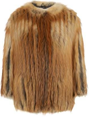 SET Red Fox Fur Jacket